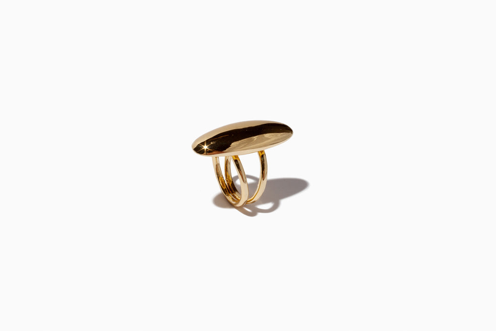 Oval Dome Ring