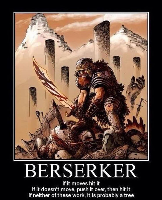 Viking Berserker Warriors