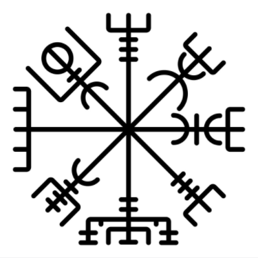 The Viking Vegvisir Symbol