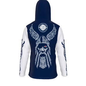 All-Over Print Unisex Pullover Hoodie With Mask