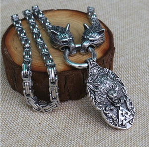 Viking Stainless Steel Necklace