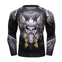 Load image into Gallery viewer, VIKING LAIR 1 / M Viking Men Rashguard Style 1