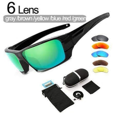 Load image into Gallery viewer, VIKING LAIR 6 Lens Set INGVAR Polarized Fishing Sunglasses