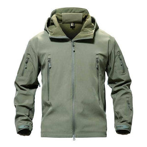 VIKING LAIR Army green / S Genuine Military/Outdoor Waterproof Thermal Jacket