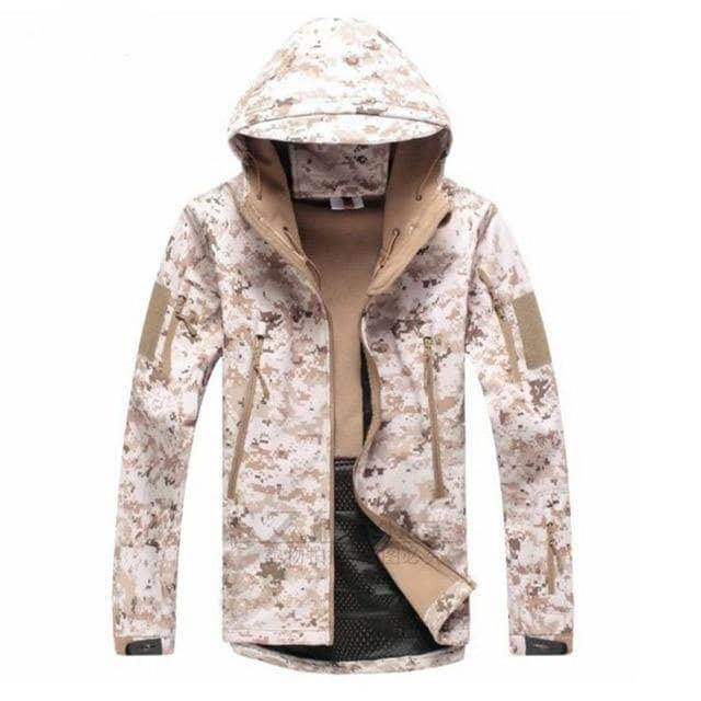 VIKING LAIR Desert / S Genuine Military/Outdoor Waterproof Thermal Jacket