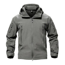 Load image into Gallery viewer, VIKING LAIR Gray / S Genuine Military/Outdoor Waterproof Thermal Jacket