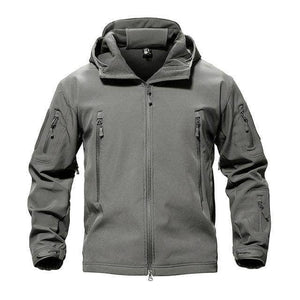 VIKING LAIR Gray / S Genuine Military/Outdoor Waterproof Thermal Jacket