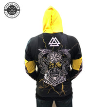 Load image into Gallery viewer, VIKING LAIR Hoodie Viking Vegvisir Jörmungandr 3D Printed Hoodie + Sweatshirt