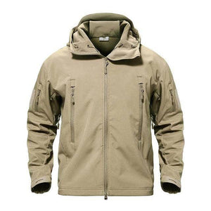 VIKING LAIR Khaki / S Genuine Military/Outdoor Waterproof Thermal Jacket