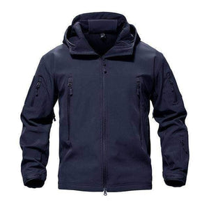 VIKING LAIR Navy / S Genuine Military/Outdoor Waterproof Thermal Jacket