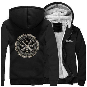 VIKING LAIR Sweatshirt Black / M Viking Cool Symbol Sweatshirt + Hoodie