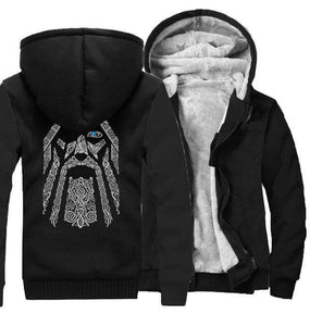 VIKING LAIR Sweatshirt black / S(US) Odin Viking Sweatshirt + Hoodie