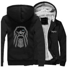 Load image into Gallery viewer, VIKING LAIR Sweatshirt Black / XL (US) Viking Odin Sweatshirt + Hoodie