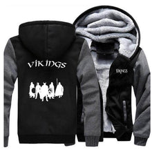 Load image into Gallery viewer, VIKING LAIR Sweatshirt Dark Gray Black 5 / L Viking Stylish Winter Sweatshirt + Hoodie