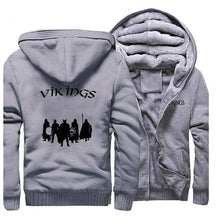 Load image into Gallery viewer, VIKING LAIR Sweatshirt Gray 1 / L (US) Viking Stylish Winter Sweatshirt + Hoodie