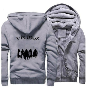 VIKING LAIR Sweatshirt Gray 1 / L (US) Viking Stylish Winter Sweatshirt + Hoodie