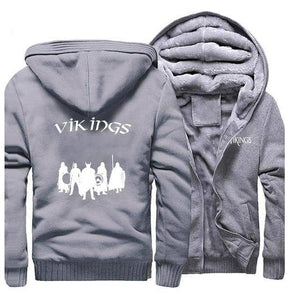 VIKING LAIR Sweatshirt Gray 5 / L Viking Stylish Winter Sweatshirt + Hoodie