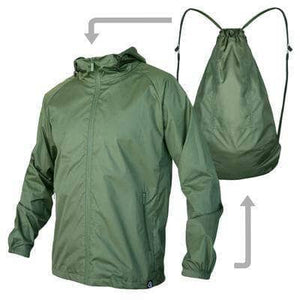 VIKING LAIR Sweatshirt Green / XS Viking Lair Waterproof Jacket Backpack