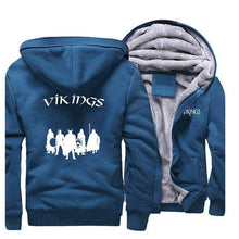 Load image into Gallery viewer, VIKING LAIR Sweatshirt Lake Blue 1 / L (US) Viking Stylish Winter Sweatshirt + Hoodie