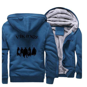 VIKING LAIR Sweatshirt Lake Blue 5 / M (US) Viking Stylish Winter Sweatshirt + Hoodie
