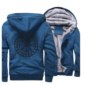 VIKING LAIR Sweatshirt Lake Blue 5 / XXL (US) Viking Stylish Sweatshirt + Hoodie