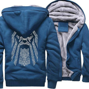 VIKING LAIR Sweatshirt lake blue / S(US) Odin Viking Sweatshirt + Hoodie