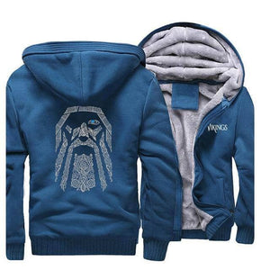 VIKING LAIR Sweatshirt Lake Blue / S (US) Viking Odin Sweatshirt + Hoodie