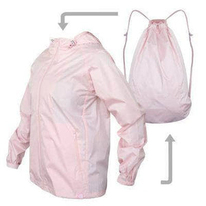 VIKING LAIR Sweatshirt Pink / XS Viking Lair Waterproof Jacket Backpack