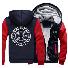 Load image into Gallery viewer, Viking Vegvisir Sweatshirt + Hoodie