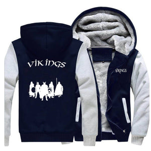 VIKING LAIR Sweatshirt Viking Stylish Winter Sweatshirt + Hoodie