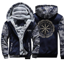 Load image into Gallery viewer, VIKING LAIR Sweatshirt Viking Thick Camo Winter Men Sweatshirt + Hoodie