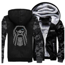 Load image into Gallery viewer, VIKING LAIR Sweatshirt Vintage Gray / M (US) Viking Odin Sweatshirt + Hoodie