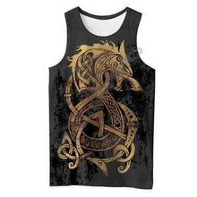 Load image into Gallery viewer, VIKING LAIR Tank Top / S Unisex Viking Warrior Tattoo Sweatshirt Style 1