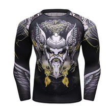 Load image into Gallery viewer, VIKING LAIR Viking Men Rashguard Style 1