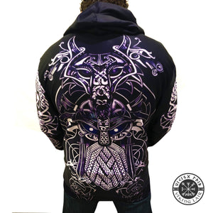 VIKING LAIR Viking Warrior Tattoo Tracksuit 3D Full Print Hoodie + Sweatshirt