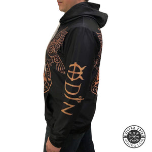 VIKING LAIR Viking Warrior Valknut Futhark Ravens Tattoo 3D Printed Hoodie + Sweatshirt