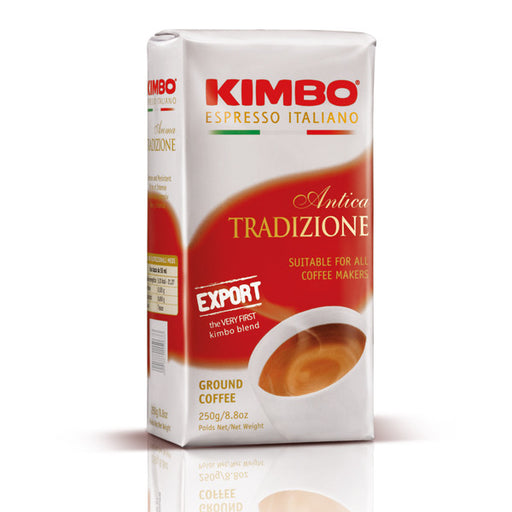 Kimbo Antica Tradizione Export Ground Coffee