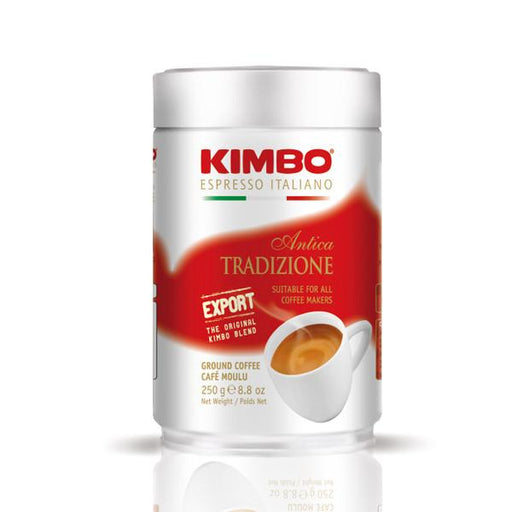 Kimbo Antica Tradizione Export Ground Coffee - Tin