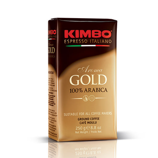 Kimbo Aroma Gold 100% Arabica Ground Coffee
