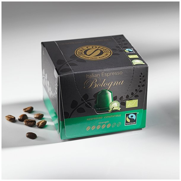 Real Coffee Bologna Fairtrade - Nespresso Compatible