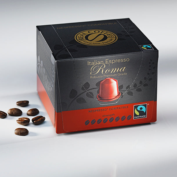 Real Coffee  Roma Fair Trade - Nespresso® Compatible