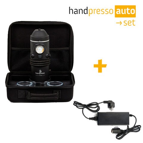 Handpresso Auto Set & Power Adapter