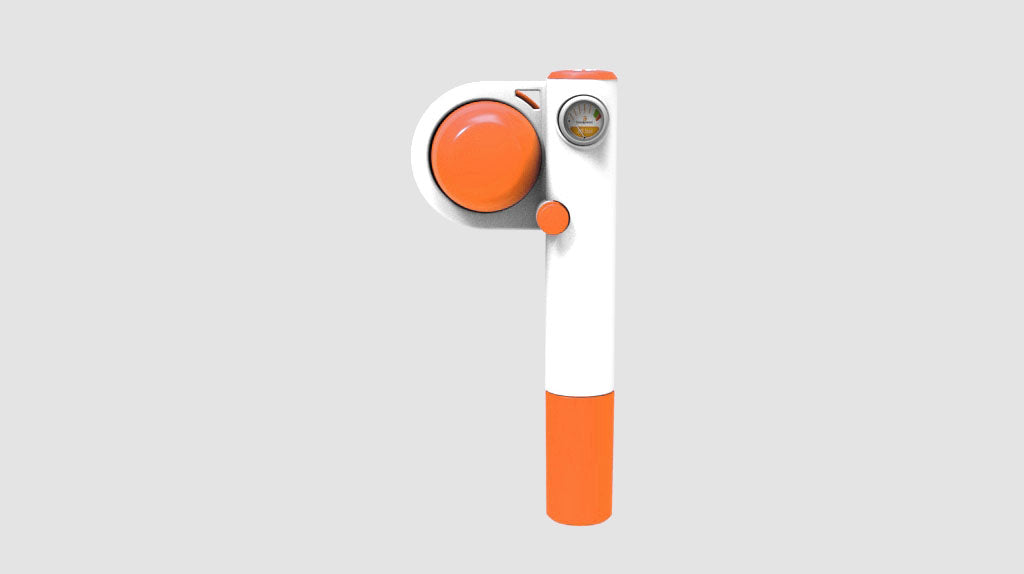 Handpresso Pump Pop Orange & Thermos Flask White