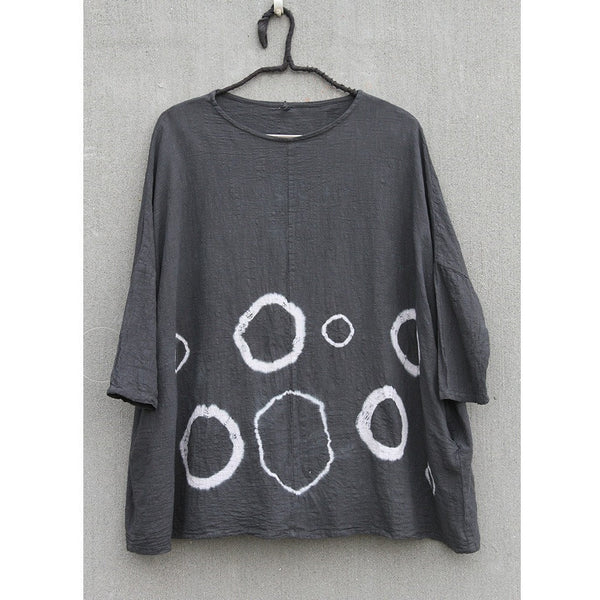 Natural Plant Dyed Dot Shirt