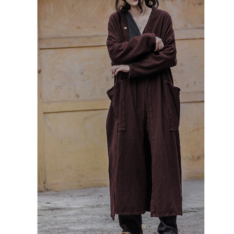 Autumn Long Patch Pocket Overcoat
