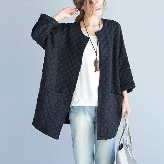 Quilted Polka Dot Jacket