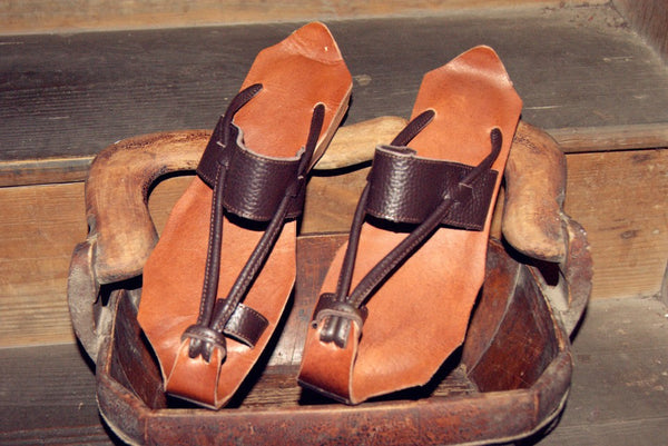 Leather Harem Sandals