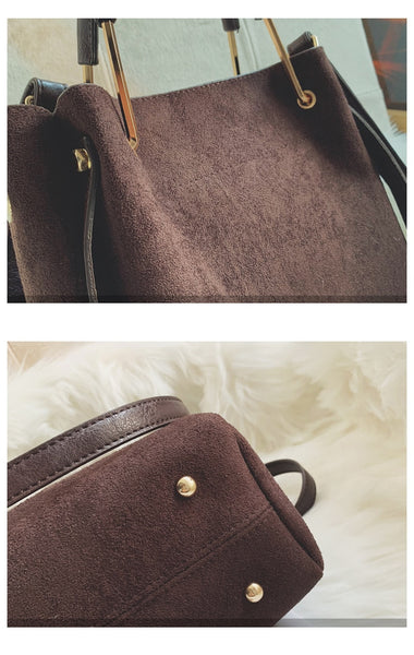 Vegan Leather Messenger Bag