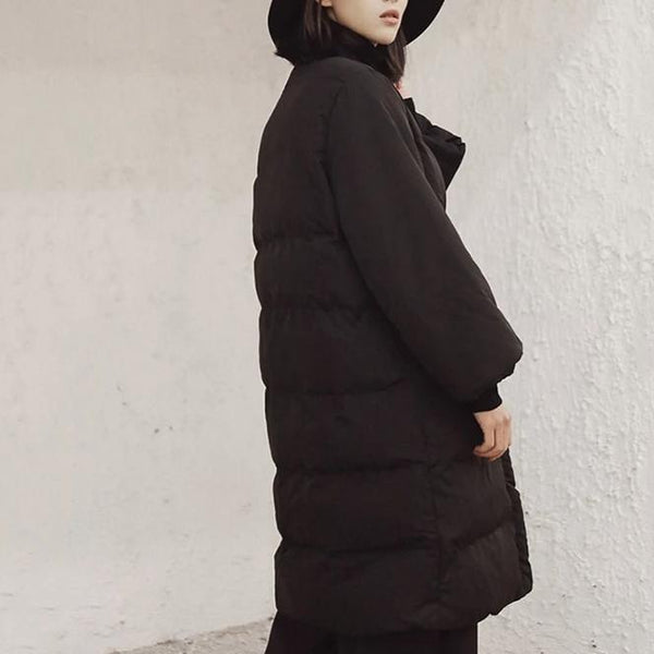 Over-sized V-Neck Winter Jacket