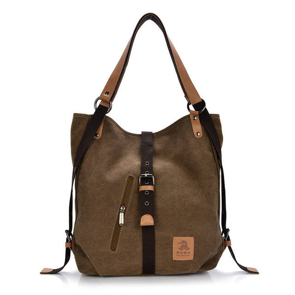 Canvas Messenger Bag/Backpack